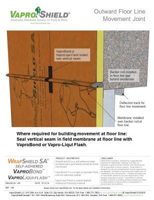 Outward Floor Line Movement Joint