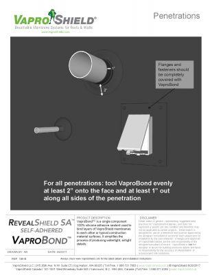 RevealShield SA Penetrations