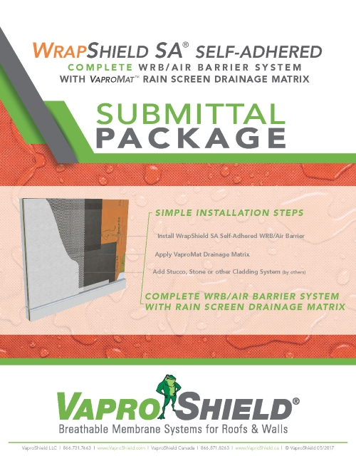 VaproMat SubmittalPackage Front 051817web