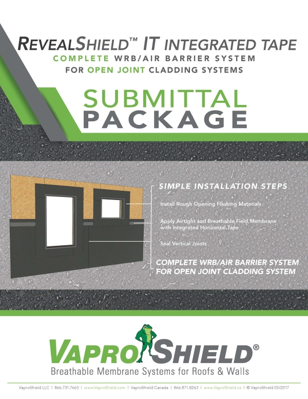 RevealShieldIT Submittal Package Front 050217