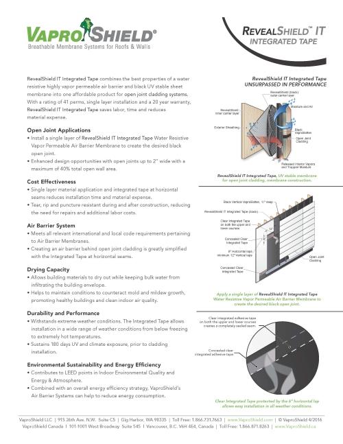 Open Joint Applications Cost Effectiveness Air Barrier