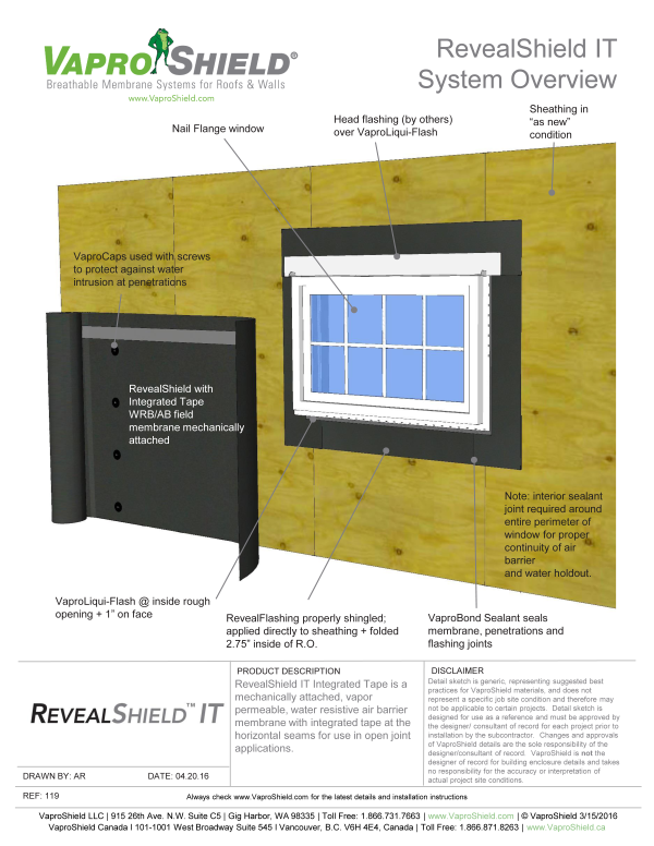 VS 119 RevealShield SystemOverview 072916