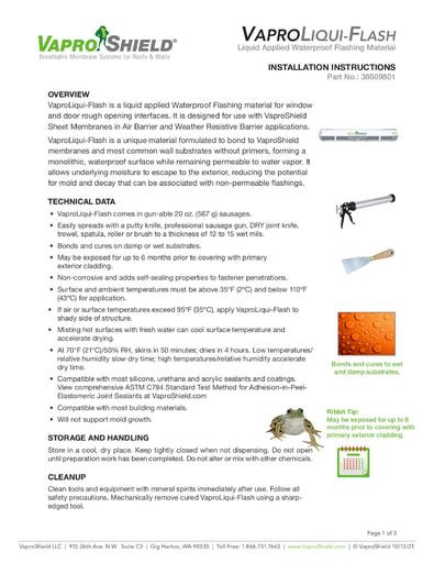 New Equipment Installation Procedure